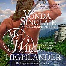 My Wild Highlander (       UNABRIDGED) by Vonda Sinclair Narrated by Andrew Bryan