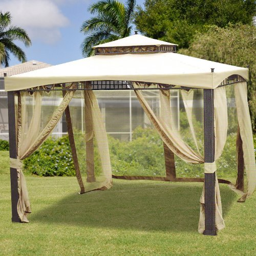 Replacement Canopy For Backyard Creations Gazebo : Sydney Gazebo Replacement Canopy  RipLock 350  Gazebos  Patio and