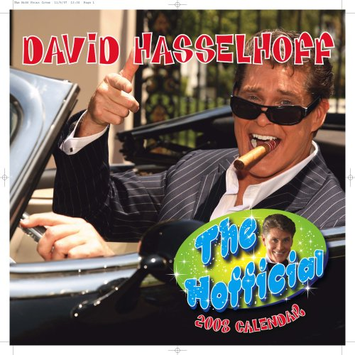 The hofficial David Hasselhoff 2008 Calendar