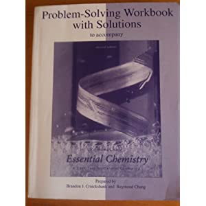 Problem-solving workbook w/solutions to accompany general chemistry