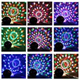 Super Wonderful LED RGB Crystal Magic Ball Effect light DMX Disco DJ Stage Lighting Play and Plug