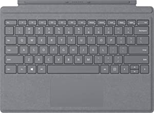 Microsoft Surface Pro Type Cover with Trackpad, Mechanical Key, Surface Pen and Arc Mouse Business Accessories Combo, for Surface Pro 6, Pro, Pro 3, Pro 4 (Platinum) (Color: Platinum)