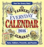 img - for The Old Farmer's Almanac 2016 Everyday Calendar book / textbook / text book