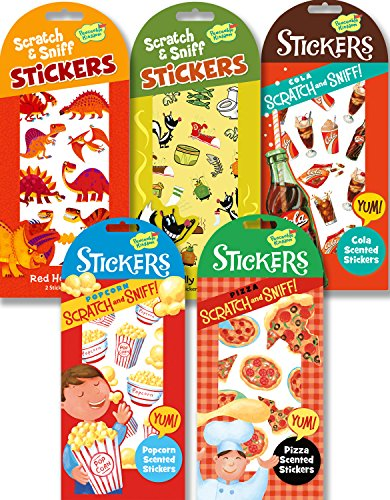 Peaceable Kingdom Crazy Cool Scratch and Sniff Sticker Party Assortment