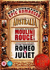 Romeo And Juliet/Moulin Rouge/Australia [DVD]