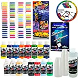 Createx KIT-SUPER16 Airbrush Super Starter Kit With Pack of...