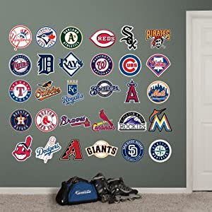MLB All Teams Logo Collection ALL Team Wall Graphics by Fathead