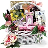 Art of Appreciation Gift Baskets Medium Mothers Are Forever Tea & Snacks
