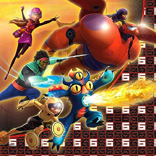 Big Hero 6 Small Napkins (16ct) - 1