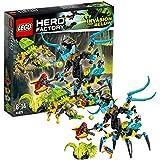 Lego Hero Factory - 44029 - Jeu De Construction - Queen Contre Furno, Evo Et Stormer