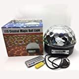Leoie LED Remote Control U Disk Crystal Magic Ball Stage Light Card + Bluetooth Mode (Color: Style3, Tamaño: Standard)