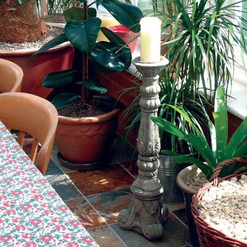 Garden Ornaments - Medium Size Stone Candlestick Sculpture