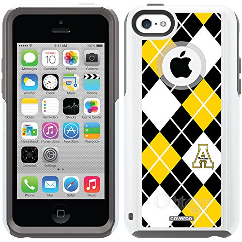 Appalachian State Argyle Design On A Glacier Otterbox® Commuter Series® Case For Iphone 5C