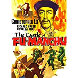 The Castle of Fu Manchu [VHS Retro Style DVD] 1969