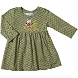 Mimi & Maggie Baby Girls' Little Owl Dress (Baby) - Green