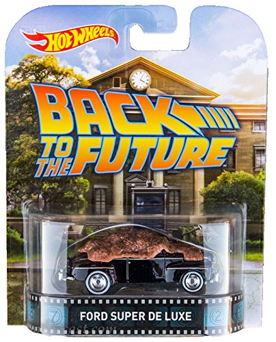 "48' Ford Super De Luxe ""Back To The Future"" Hot Wheels 2015 Retro Series 1/64 Die Cast Vehicle"