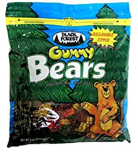 Black Forest Gummy Bears, 5-Pound Resealable Bags (Pack of 2)