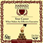 What Makes an Effective Executive | Peter F Drucker