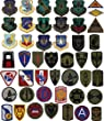 VINTAGE Army & Navy Military Patches (Subdued & Regular)