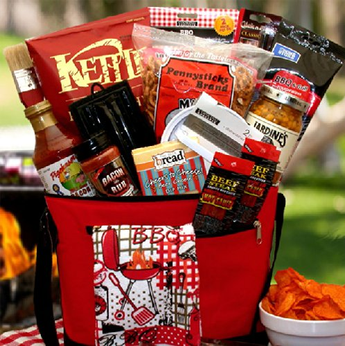 For The Master Griller Gift Basket | Makes A Perfect Fathers Day Gift