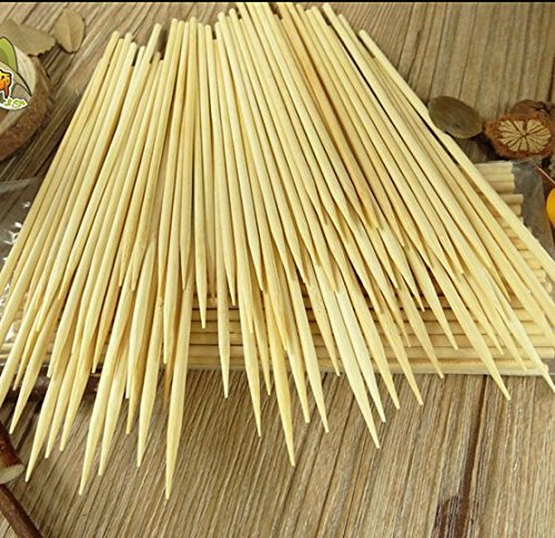 Best Price Kabob skewers PACK of 500 8 inch bamboo sticks made from 100 % natural bamboo - shish kab...