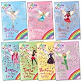Daisy Meadows Dance Fairies Pack, 7 books, RRP £27.93 (Rainbow Magic: Bethany the Ballet Fairy, Imogen the Ice Dance Fairy, Jade the Disco Fairy, Jessica the Jazz Fairy, Rebecca the Rock n' Roll Fairy, Saskia the Salsa Fairy, Tasha the Tap Dance Fairy).