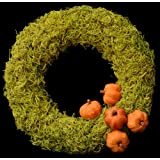 Exotic Creations Gentle Woodsy - Dried flower wreath(L=40 cm X W=40 cm X D= 40 cm)