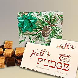 Evergreen - Assorted Fudge Gift Box - Hall\'s Candies