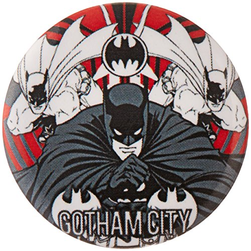 "Button set DC Comics Batman Gotham City Button (6-Piece), 1.25"" - 1"