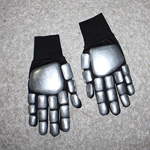 1:1 Halloween Costume Cosplay Prop Daft Punk Thomas Bangalter DJ Gloves MA182