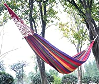 Crazy Shopping touring Camping hammock swing outdoor thickening canvas hammock by Crazy Shopping