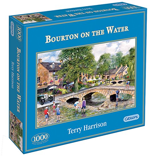- Bourton On The Water - Jigsaw Puzzle - 1000 Pieces By Gibsons