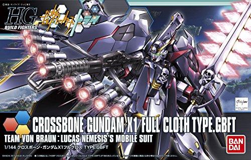 HGBF 1/144クロスボーンガンダム X1 フルクロス TYPE.GBFT (ガンダムビルフドファイターズトライ)