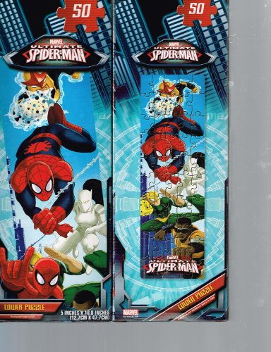 Ultimate Spider-Man Tower Puzzle (50 pieces) - 1