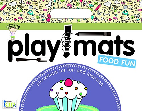 Innovative Kids Now I'm Growing! Playmats: Food Fun Novelty