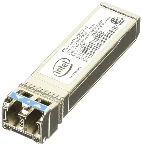 Intel E10GSFPLR  Module transmetteur SFP+ 1000Base-LX, 10GBase-LR module enfichable 1310 nm