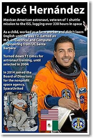 NASA Astronaut José Hernández - Mexican American in Space - NEW