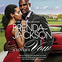 A Lover's Vow: The Grangers, Book 3 Audiobook by Brenda Jackson Narrated by Ron Butler