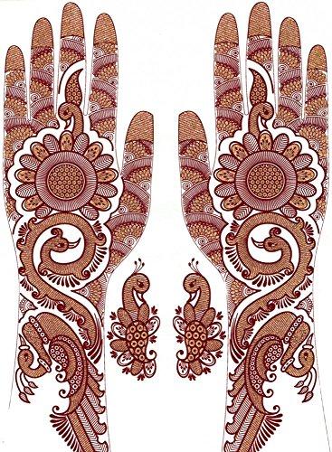 indian-bollywood-temporary-tattoo-aufkleber-bodyart-tattoo-design-korperschmuck-mehrere-teile-versch