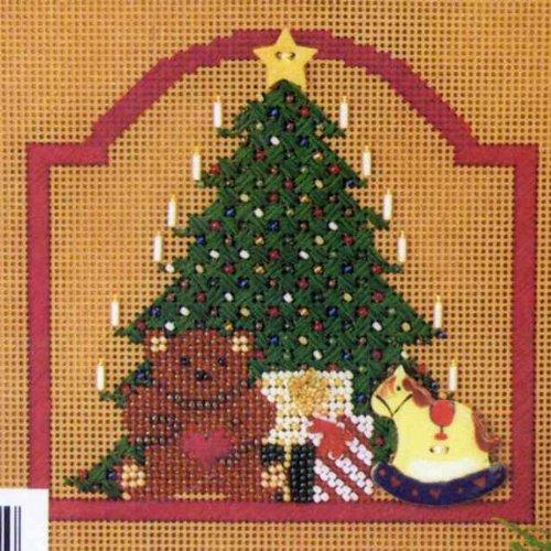 Christmas Morning - Beaded Cross Stitch Kit MHCB52
