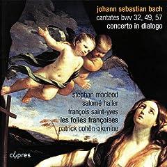 """Cantate """"selig ist der mann, der die anfechtung erduldet"""", BWV 57: III. Aria, soprano, """"Ich unschte mir den tod"""""""