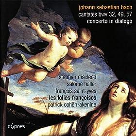 """Cantate """"Liebster jesu, mein verlangen"""", BWV 32: II. Recitativo, basse, """"Was ist, dass du mich gesucht?"""""""