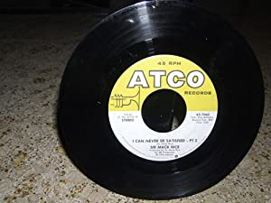 i can never be satisfied / same 45 rpm single