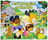 img - for Fisher-Price Little People: Let's Imagine at the Zoo (Lift-the-Flap) book / textbook / text book