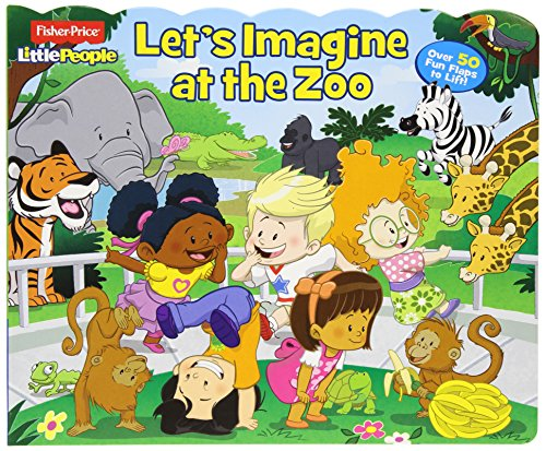 Fisher-Price Little People Let's Imagine at the Zoo