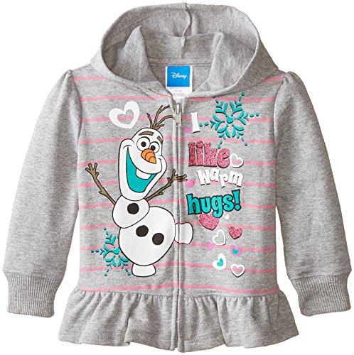 Disney Little Girls' Frozen Olaf Hoodie