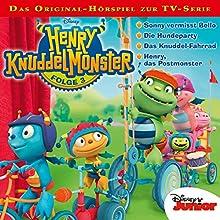 Henry Knuddelmonster 3 (       ungekürzt) von Gabriele Bingenheimer Gesprochen von: Moritz Pliquet, Maximiliane Häcke, Julia Stoepel, Hannes Maurer, Ulrike Stürzbecher