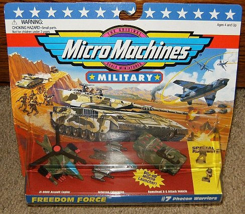 Micro Machines Photon Warriors #7 Military Collection