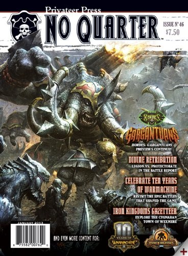 Privateer Press No Quarter Magazine #46 - 1