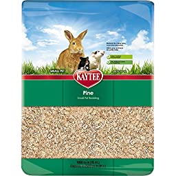 Kaytee Pine Bedding for Pet Cages, 2500 Cubic-Inch Bags